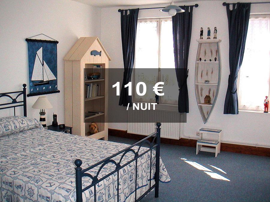 Chambre bleue 110 la maison bleue en baie chambres d - Chambre d hotes en baie de somme ...